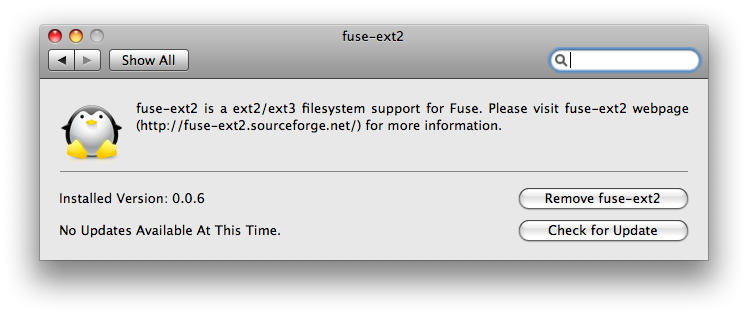 fuse ext2 mac write access